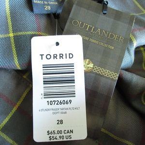 afed0695b torrid Skirts   Outlander Tartan Plaid Kilt Skirt Fraser   Poshmark